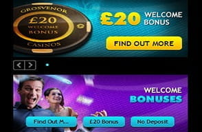 grosvenor online casino offers