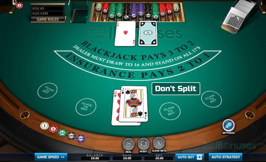 Best blackjack bonus casino