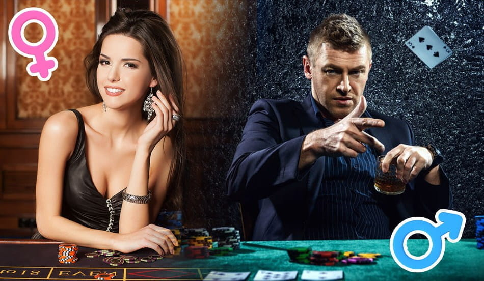 Gambling & the battle of the sexes! Which one is better, Male or female Gambler?